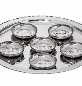 Beaded Design Seder Plate