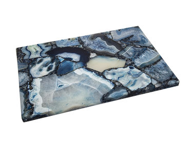 Marble, Lucite & Mirror Trays