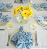 Madison White Tablecloth 66 x 144