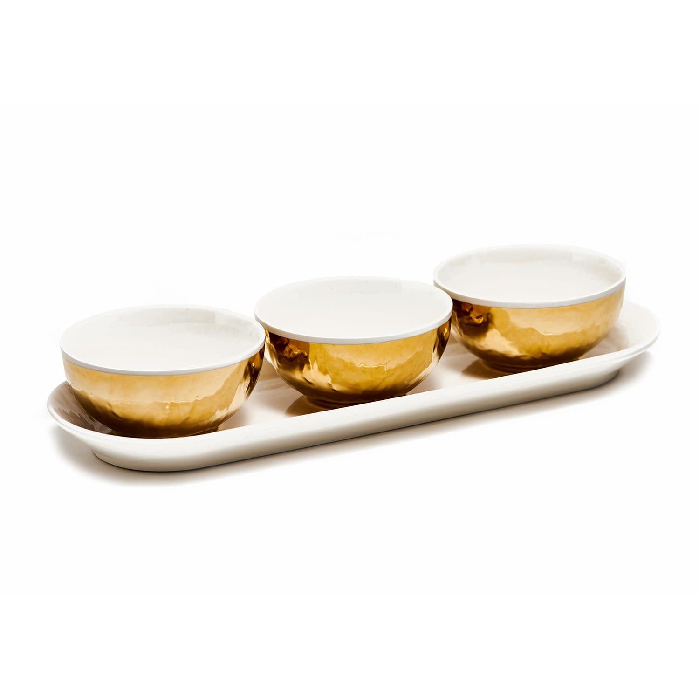 Yako Dip Set With 3 Bowls