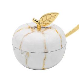 Marble Fusion Honey Jar