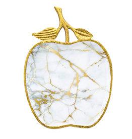 White Gold Apple Tray