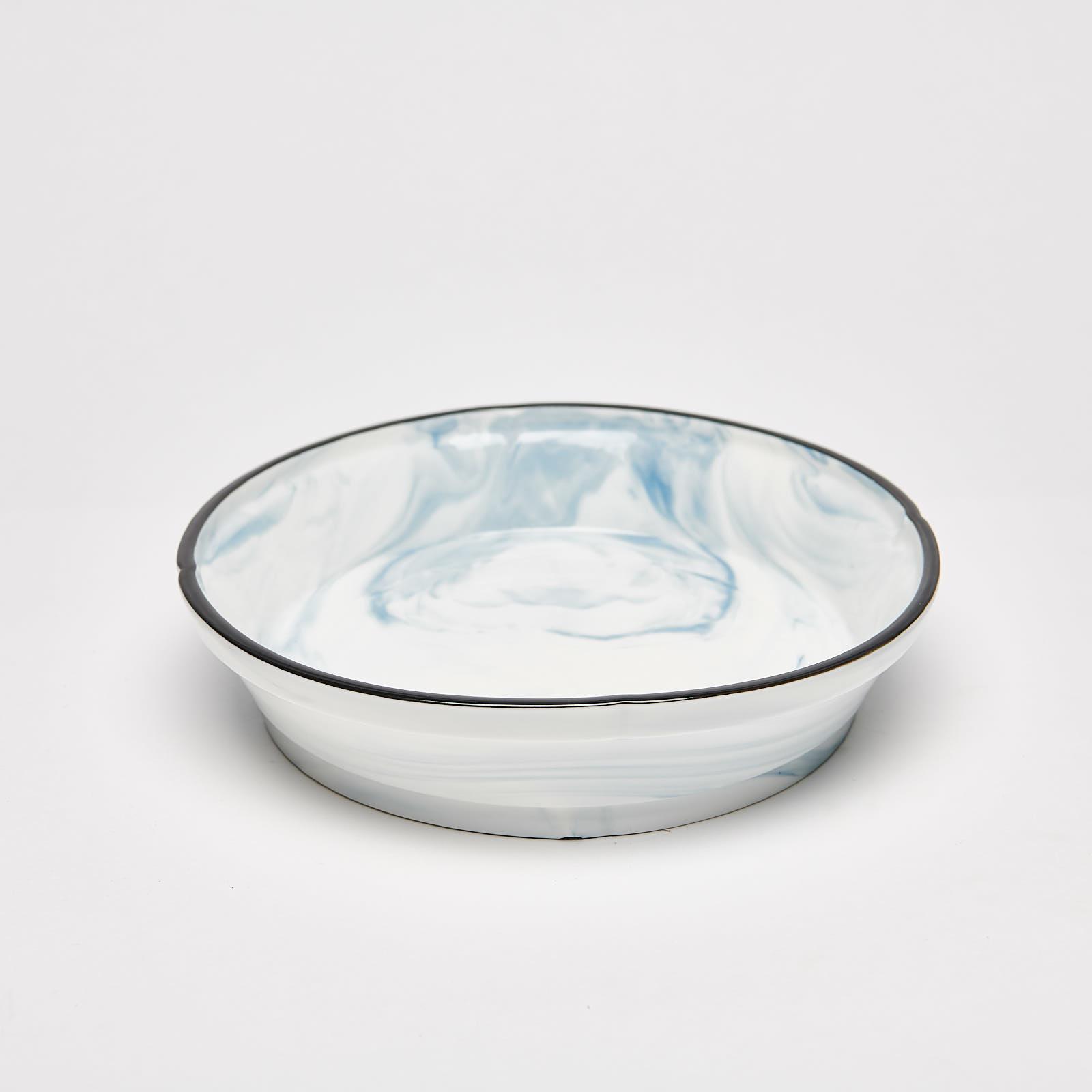 "Marble Blue 9"" Bowl"