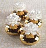 Nadia Porcelain Flower Diffuser White Rose