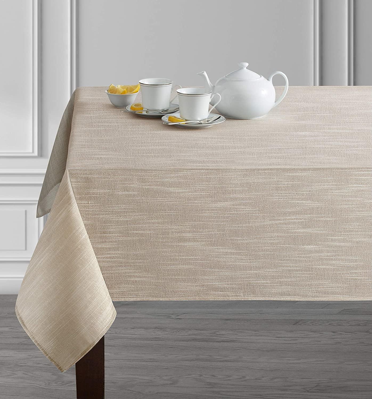 Estelle Metallic Blend Tablecloth 60 x 84