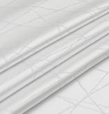 TC1333- 70 x 120 Jacquard White Silver Rays Tablecloth