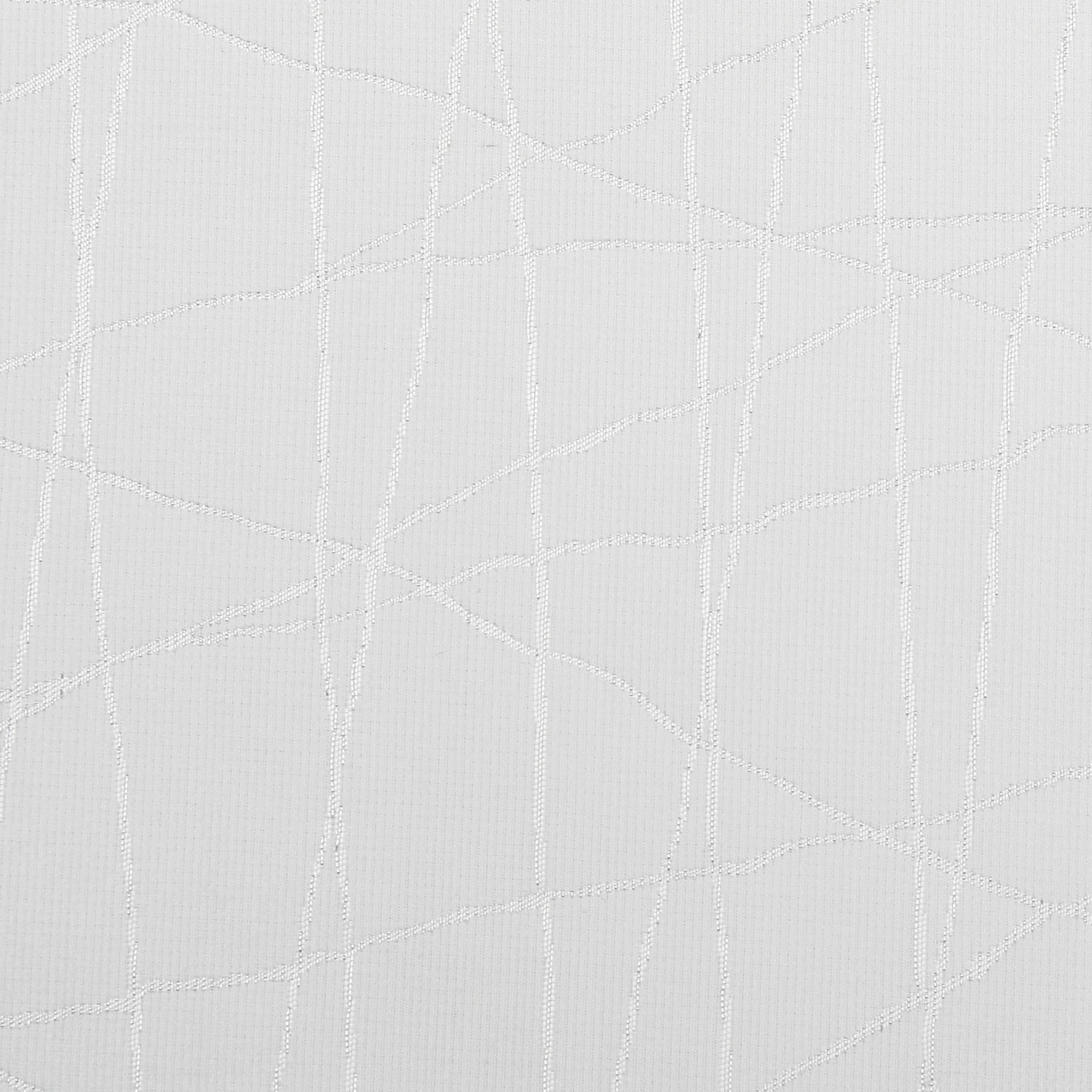 TC1333- 70 x 144 Jacquard White Silver Rays Tablecloth