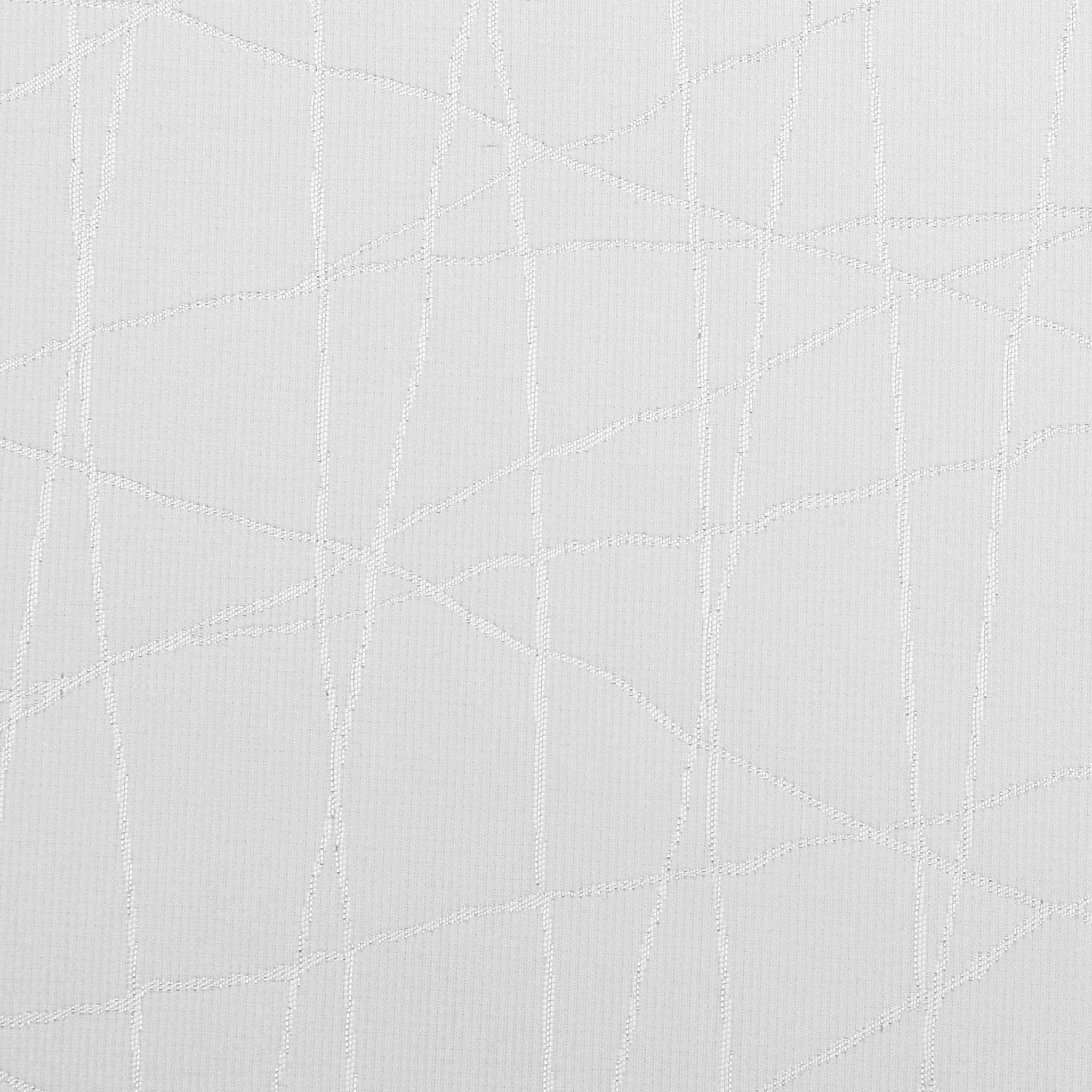 TC1333- 70 x 160 Jacquard White Silver Rays Tablecloth