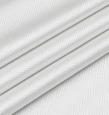 TC1335- 60 x 90 Jacquard  Desert White Silver Tablecloth