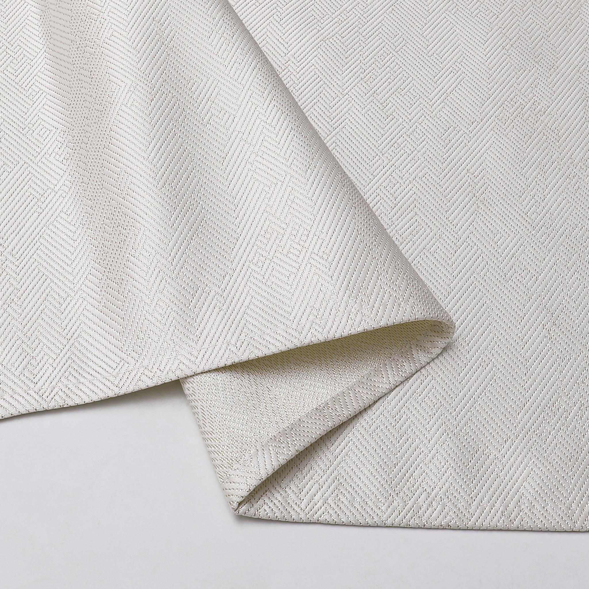 TC1336- 70 x 108 Jacquard  Desert White Gold Tablecloth