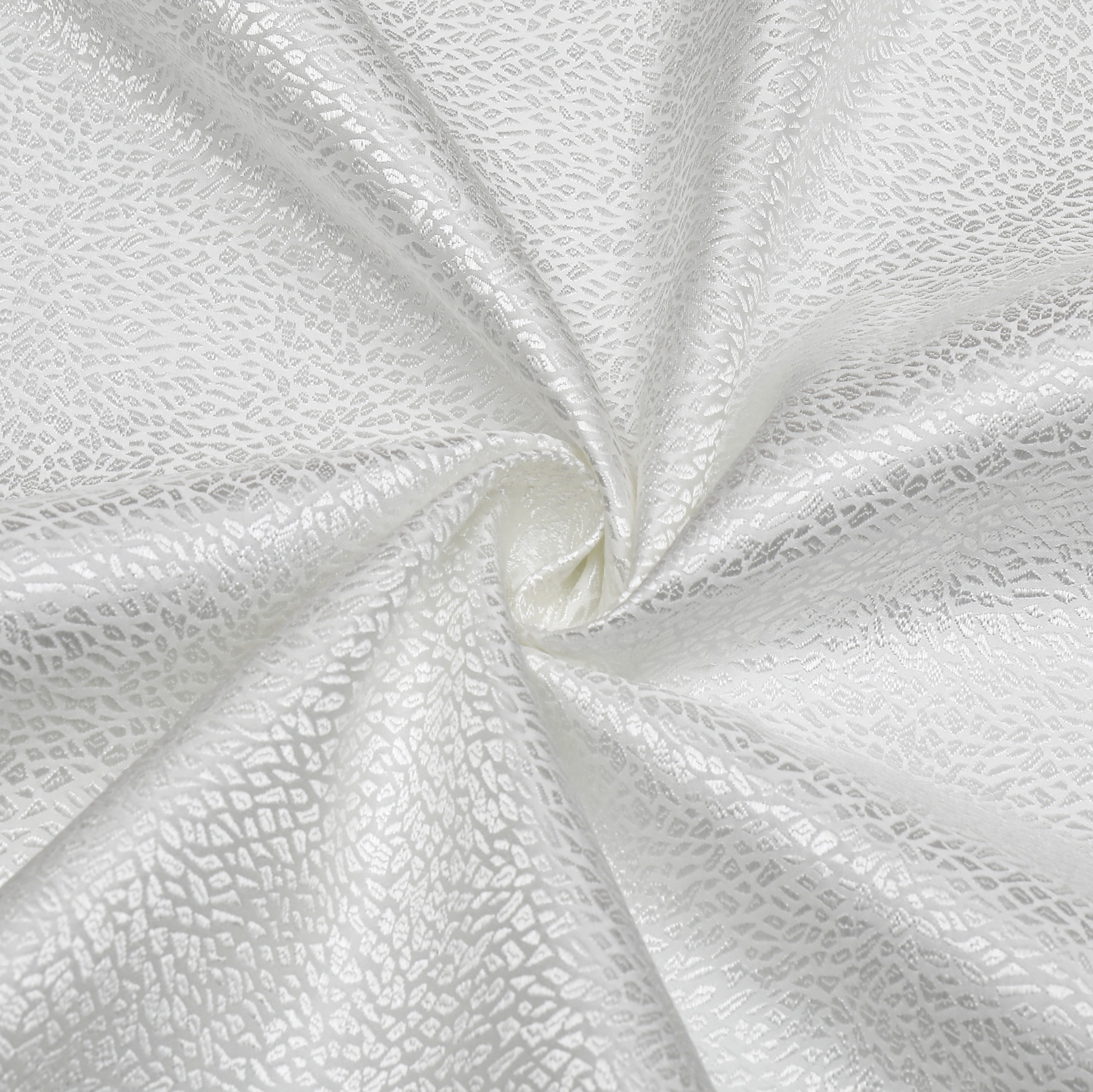 TC1345- 70 x 108 Jacquard White Slate Tablecloth