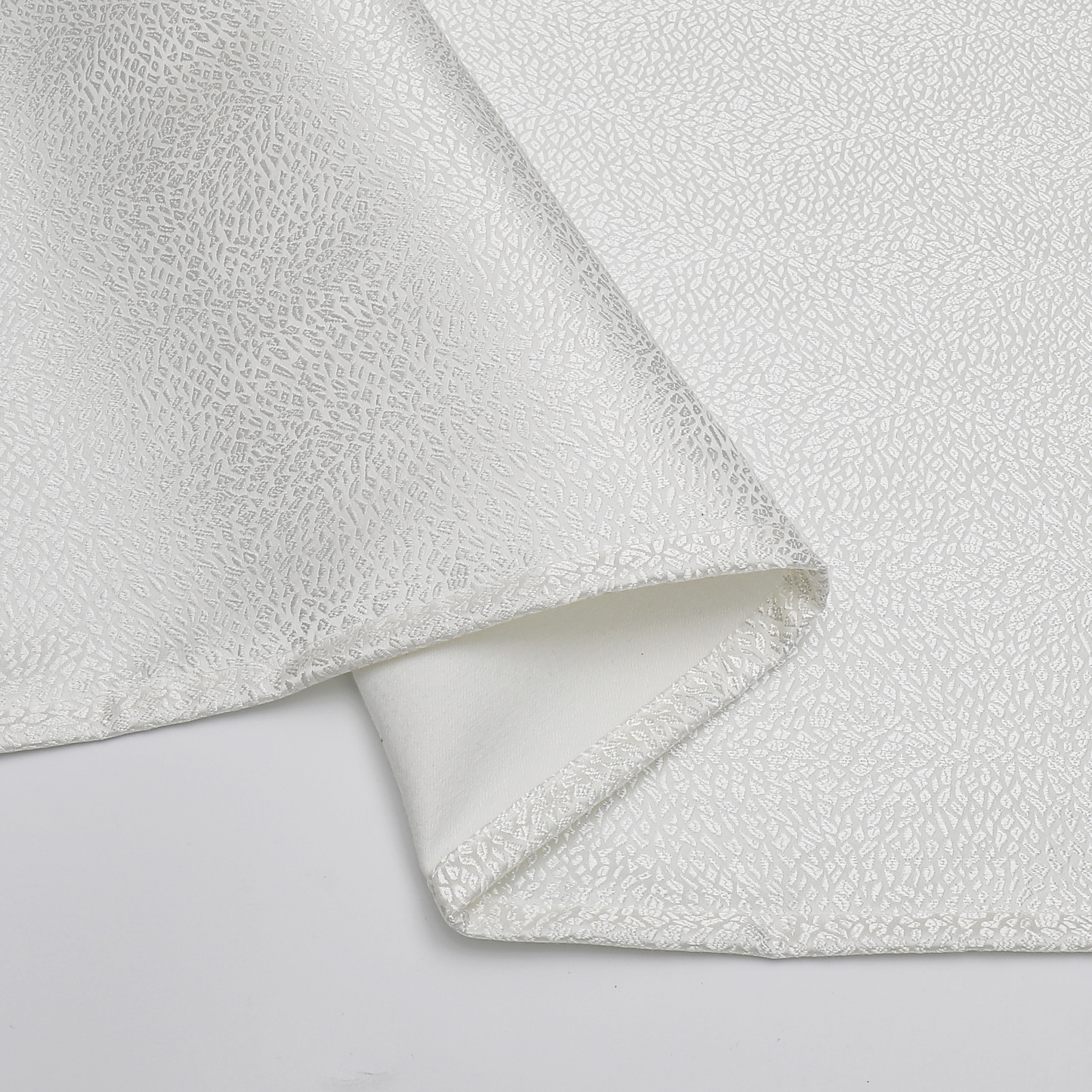 TC1345- 70 x 144 Jacquard White Slate Tablecloth