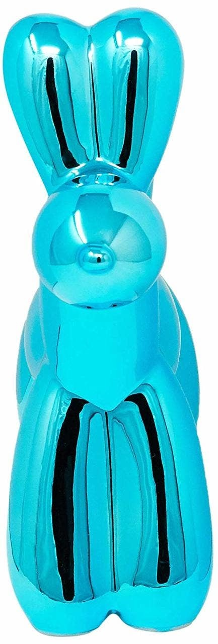 "Blue Mini Balloon Dog 7.5"""