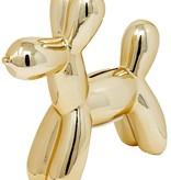 """Gold  Mini Balloon Dog 7.5"""""""