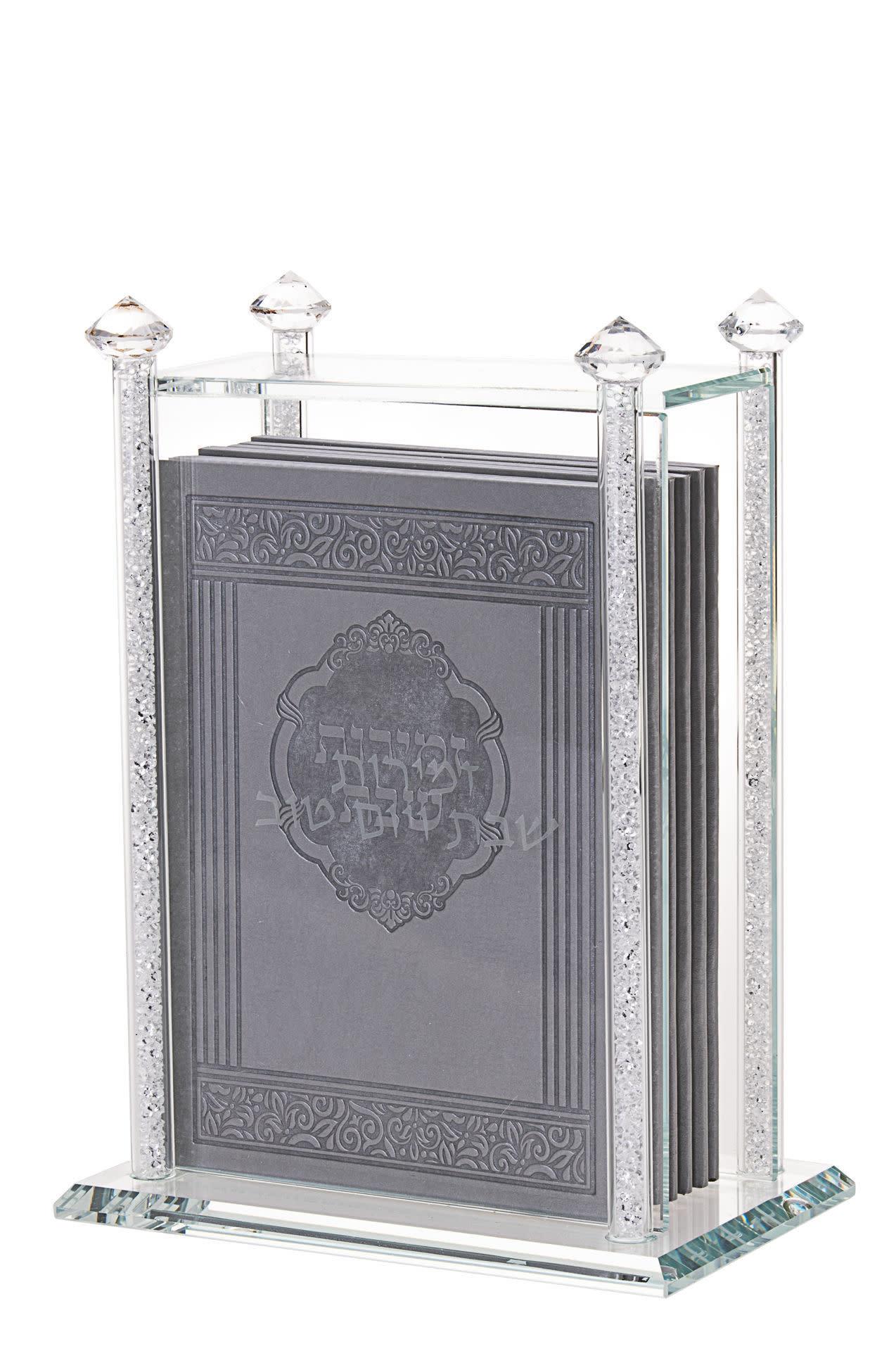 8 Edut Hamizrach Benchers in Crystal Stone Holder