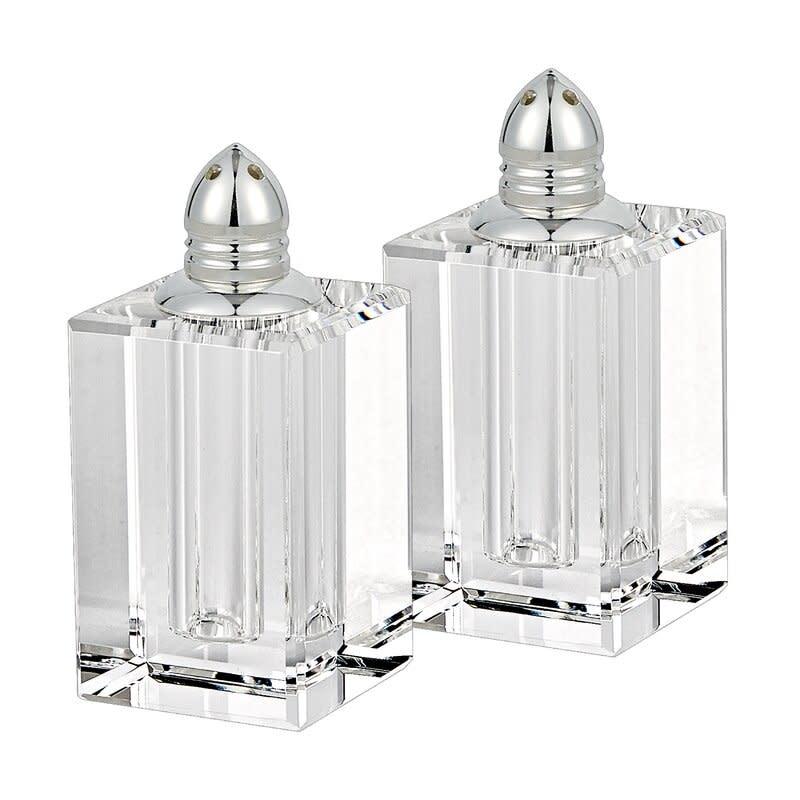 Silver Spirit Salt & Pepper Shakers