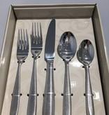 Linear Silver 20 pc set Flatware