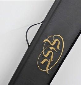 Black Lulav Bag With Gold Lettering