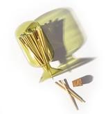 Small Match Cloche Moss