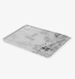 Apeloig Collection Marble Striped Acrylic Challah Board