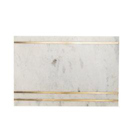 Brass Lines Marble Board
