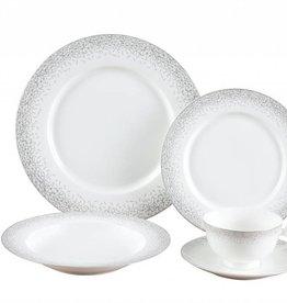 Infinity Platinum 20 Pc Dinnerware Set
