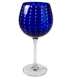 Artland Cambria Blue Wine Glass