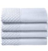White Embelished Towel Set