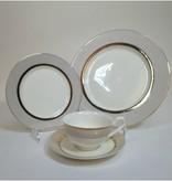 Confetti Gold 20 pc Dinnerware set