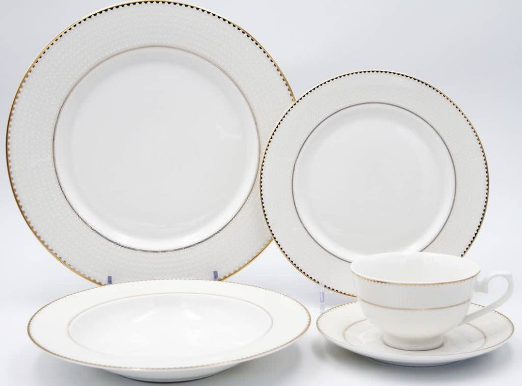 Pamela 20 pc Dinnerware Set