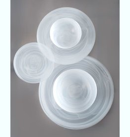 Alabaster White Salad Plate set of 6