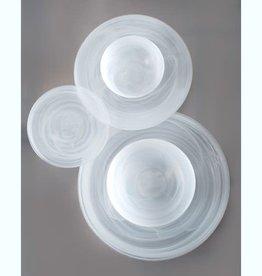 Alabaster White Salad Plate set of 6