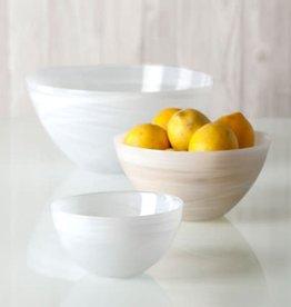 Alabaster White Soup bowl set of 6