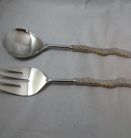 Pebbles Silver Serving Set