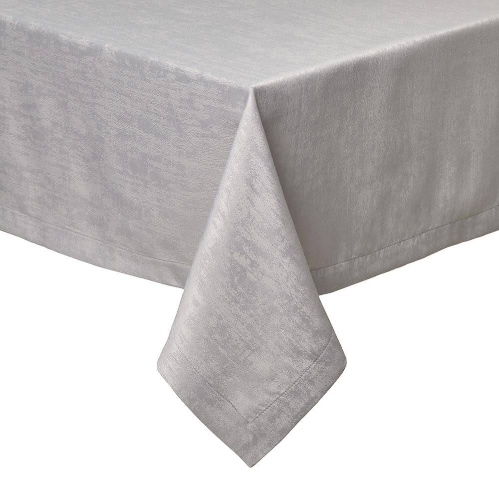 Lisbon White Tablecloth 66 x 144