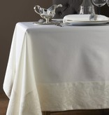 Geneva Cream Tablecloth 70 x 144