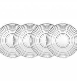 Godinger Silver Art Co Lumina Salad Plates set 4
