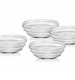 Godinger Silver Art Co Lumina Soup Bowl set 4