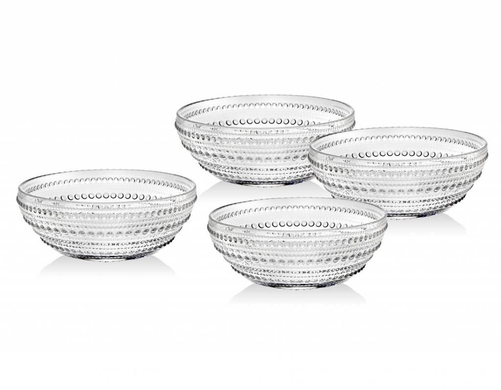 Godinger Silver Art Co Lumina Soup Bowl set 4