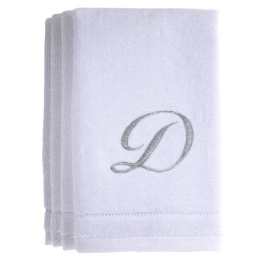 White Cotton Towels D