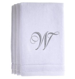 White Cotton Towels W