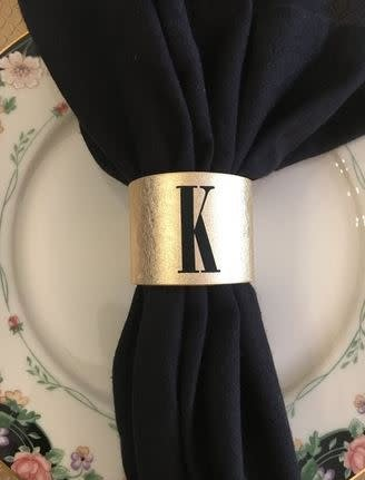 Leather Napkin Rings S12