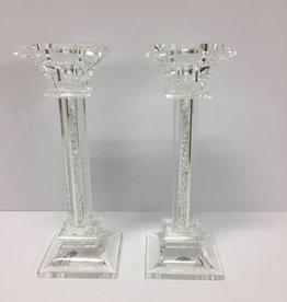 Godinger Silver Art Co Galaxy Medium Candlesticks
