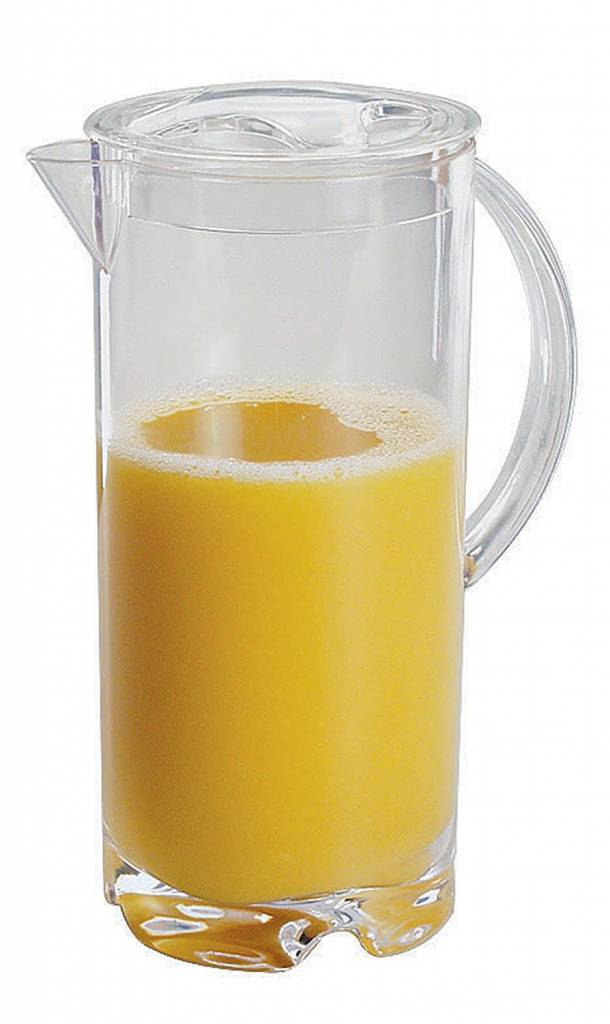 Acrylic Tall Pitcher with Cover