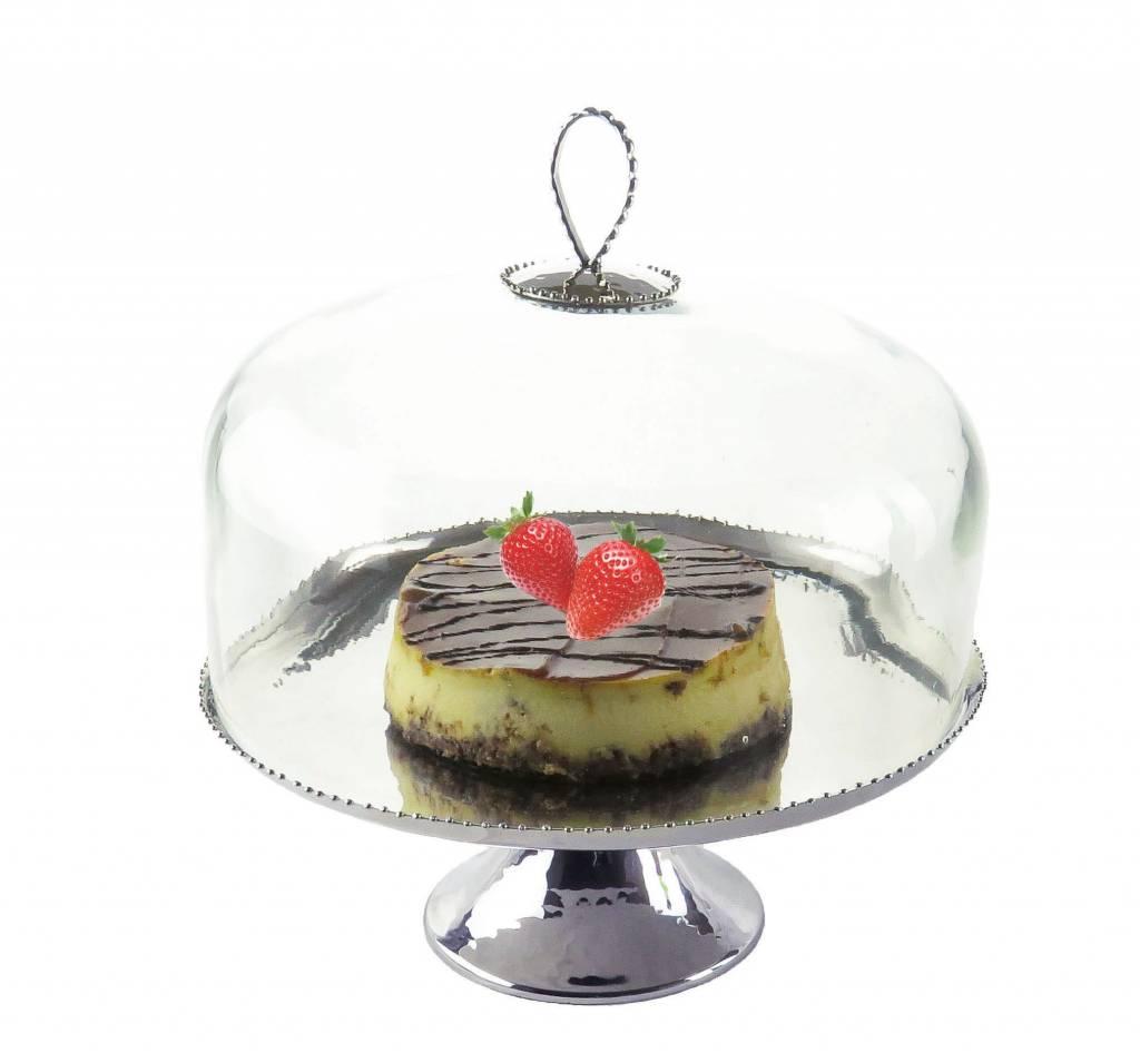 Cake Dome w/ Beaded Design