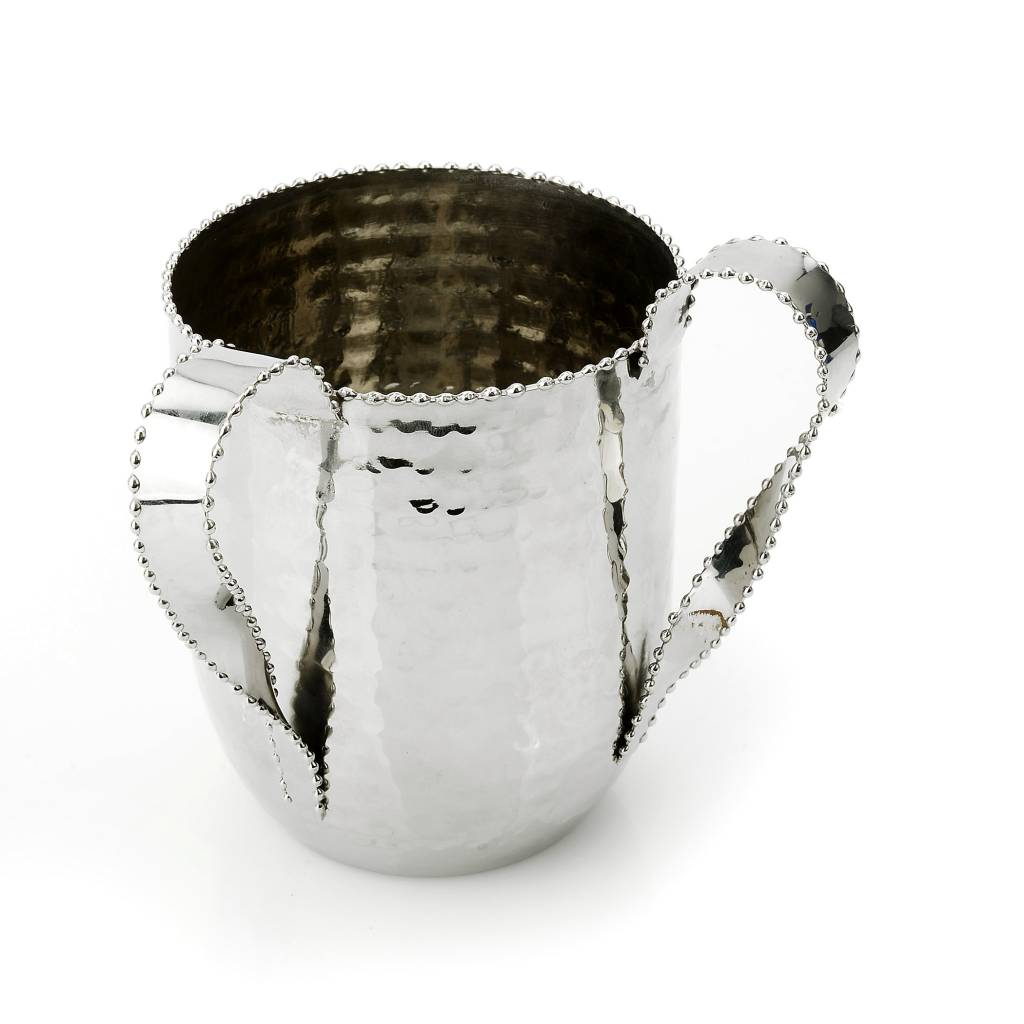 Beaded Design Washing Cup