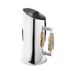 Silver Pitcher with Agate Handle