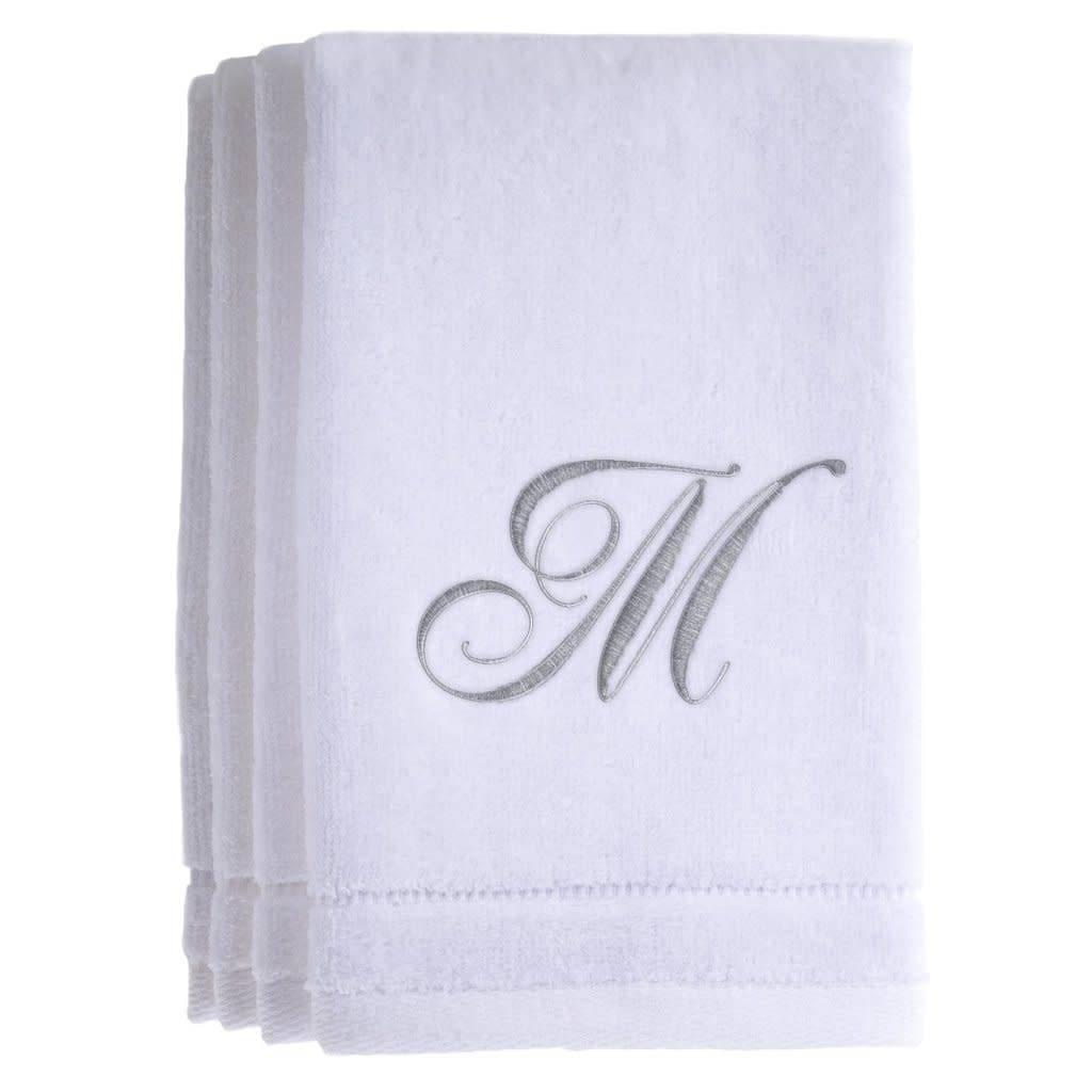 White Cotton Towels M