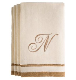 Ivory Cotton Towels N