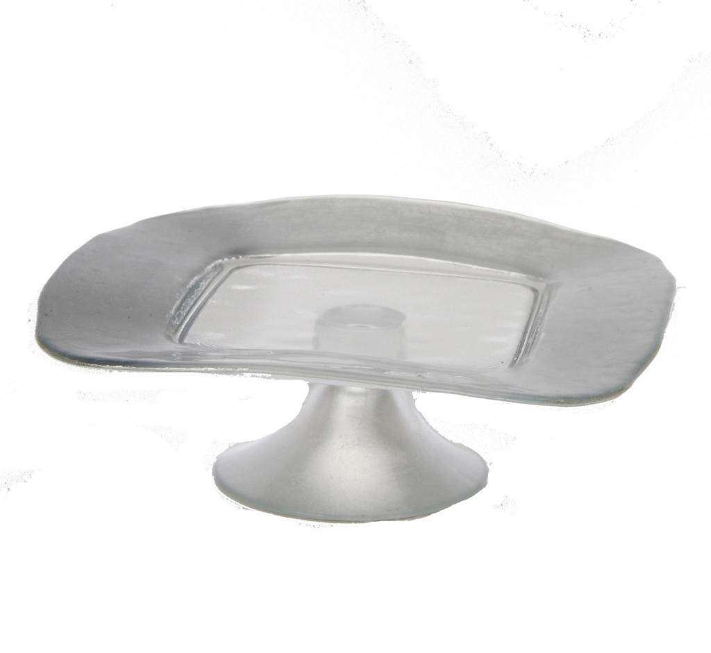 Silver Square Cake Plate